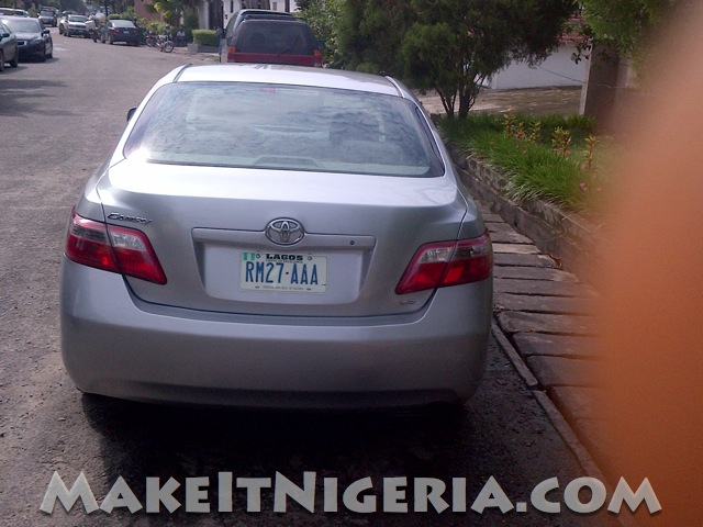 Toyota Camry Muscle Car Rental Make It Nigeria Lagos Abuja