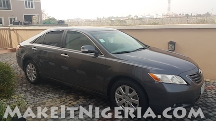 Toyota Camry Muscle Car Rental Lagos Nigeria Make It Nigeria