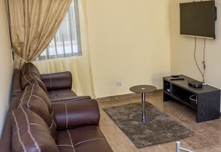 Casabella 2 bedroom vacation rental apartment at vgc for Living room decoration in nigeria